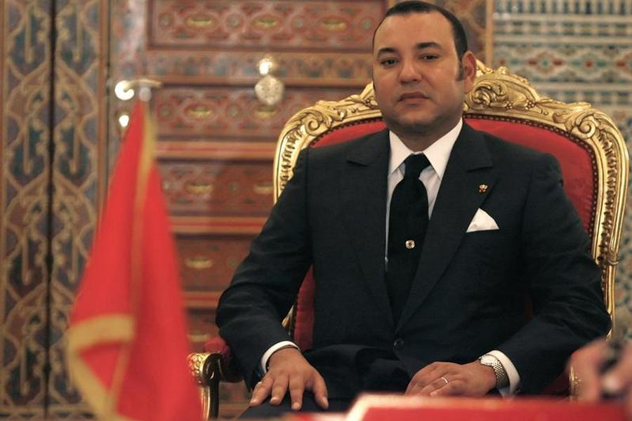 Morocco King Mohammed VI attends a signing ceremony at the Royal Palace in Marrakech, Morocco, October 22, 2007