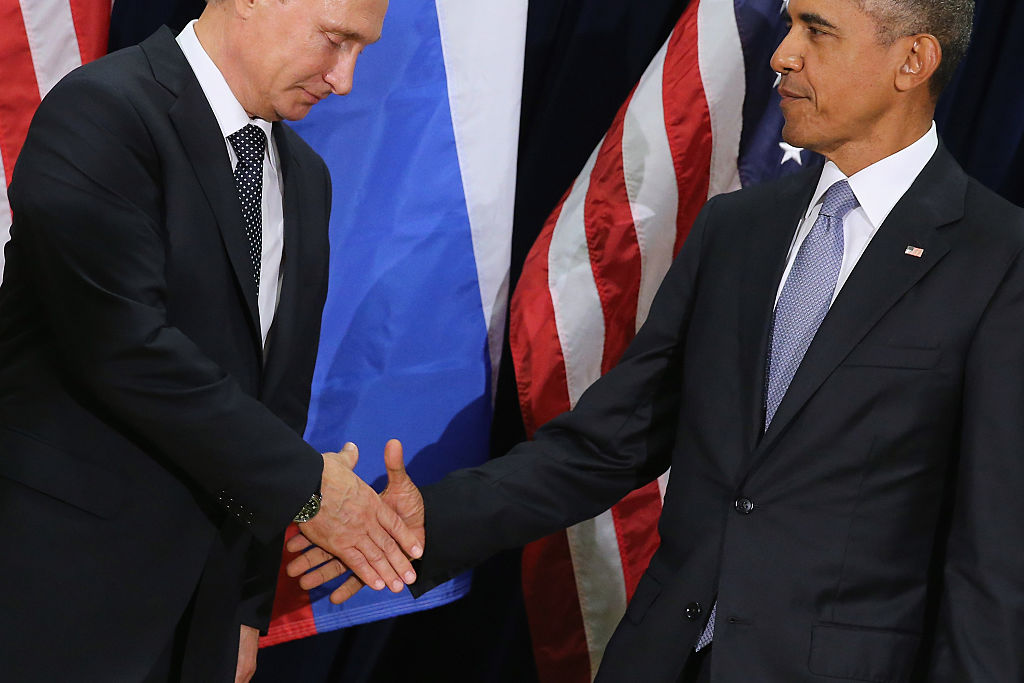 Obama Choked on Russia Long Before the 2016 Election