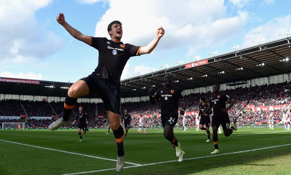 Expect to see Harry Maguire back in the Premier League next season. Photograph: Michael Regan/Getty Images