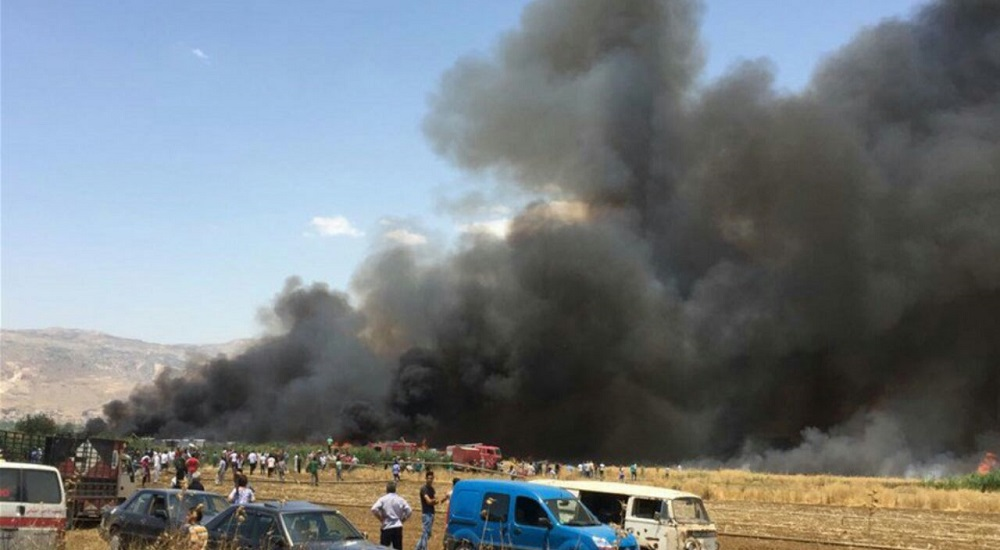 Report: 3 Killed in Fire at Syrian Refugee Camp in Lebanon