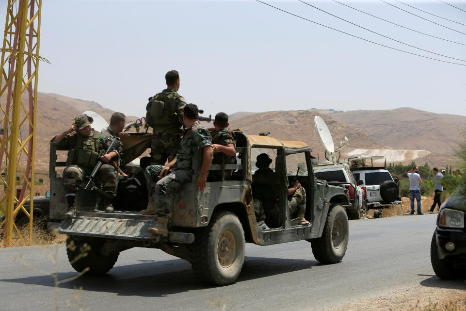 'Hezbollah', Syrian Regime Launch Operation to Seize Arsal from ISIS, al-Nusra Front