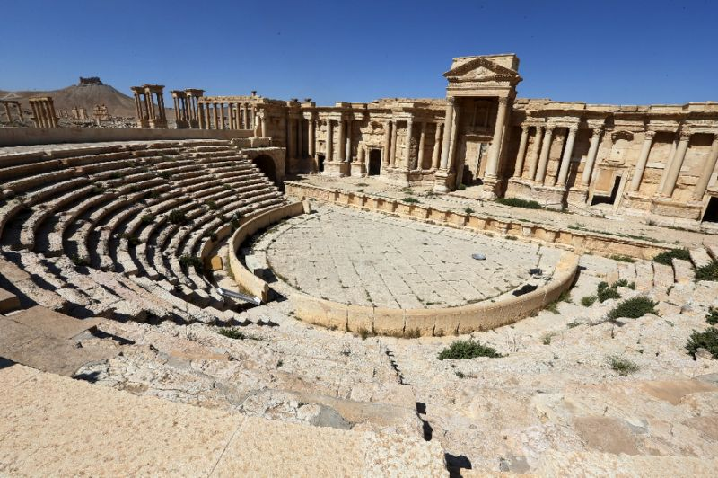 Japan Conference Seeks to Separate Reconstruction of Syria's Palmyra from Political Settlement