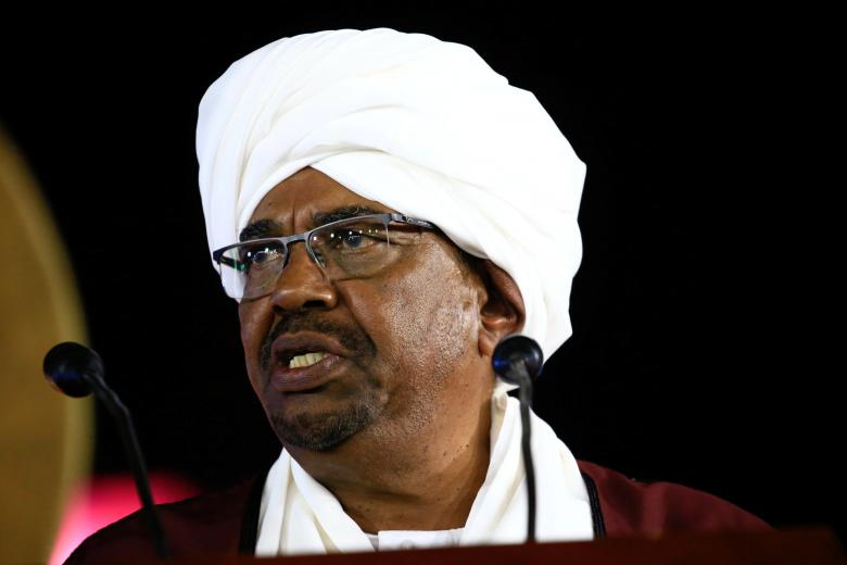 Sudanese President Values Saudi Efforts to Improve Relations between Sudan, US