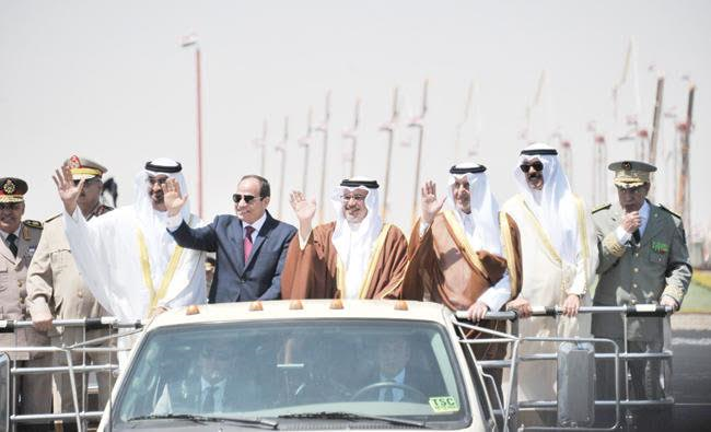 El-Sisi: No Tolerance with those Funding Terrorists