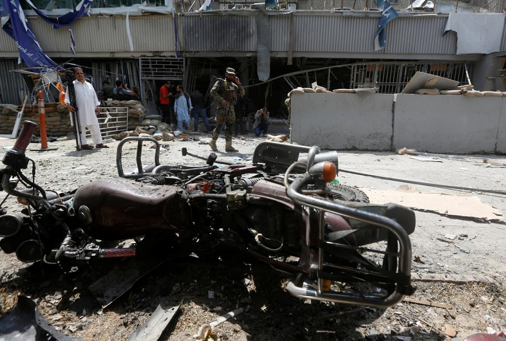 5 Killed in Suicide Bombing near US Embassy in Afghan Capital