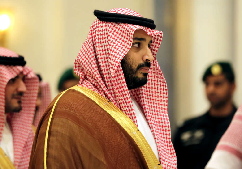 Crown Prince Discusses Regional Situation with Johnson