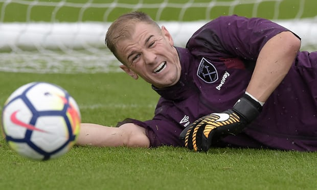 Joe Hart: 'I Want to be an England Goalkeeper Playing for West Ham'