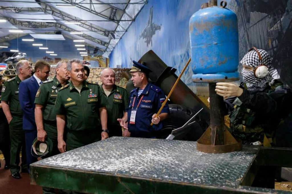 Hell Cannon, Spoils of Syria's War Displayed in Russian Military Exhibit