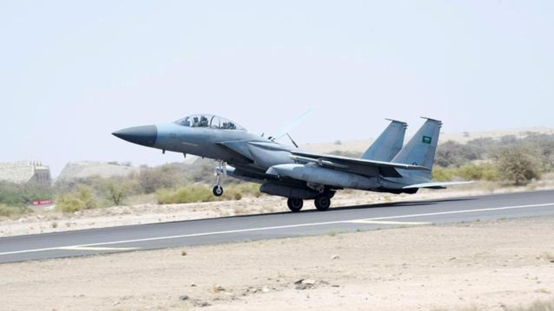 Saudi Air Force Arrive to The US for Al-Alamein Joint Drill