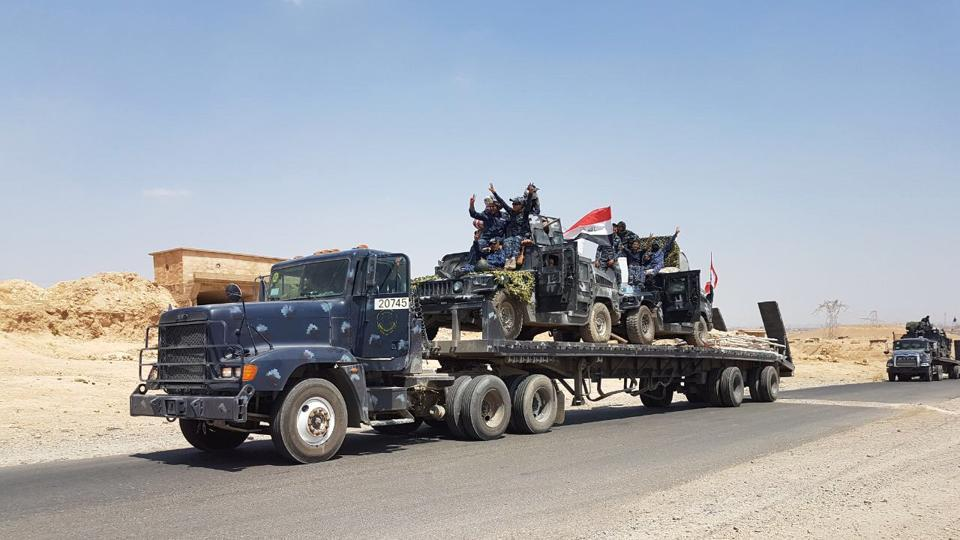 Iraqi Forces Break through ISIS Lines in Tal Afar