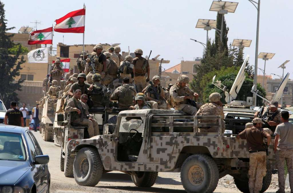 Lebanese Army Rejects Negotiation with ISIS before Revealing Captives' Fate