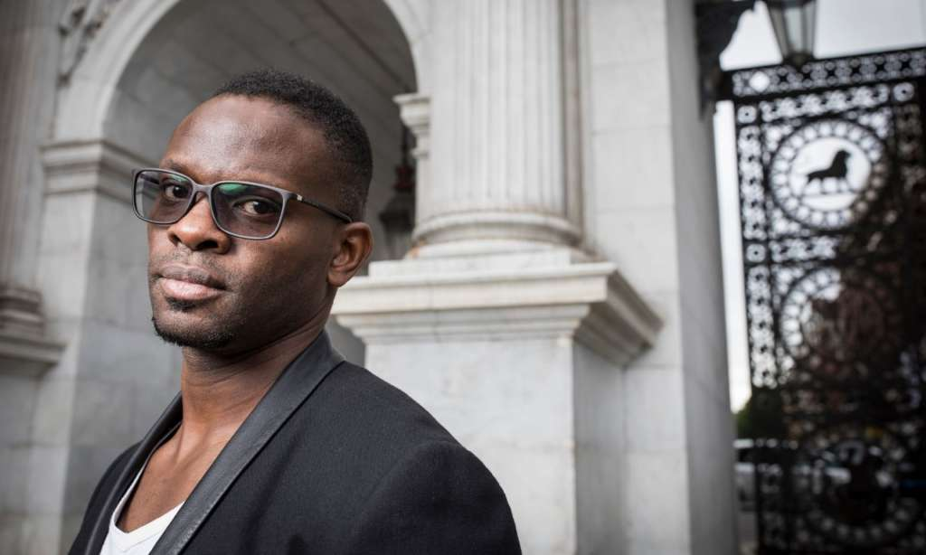 One of Louis Saha's objectives through his Axis Stars network is to take some of the power back from agents. Photograph: David Levene for the Guardian