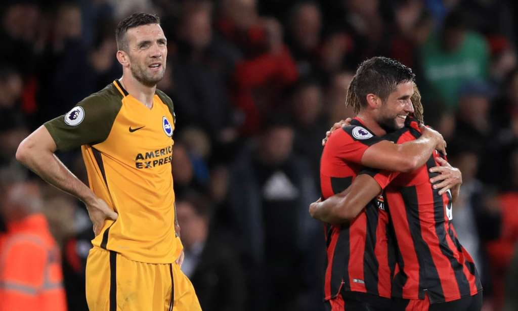 The final whistle tells the story at the Vitality Stadium last week, where Bournemouth defeated Brighton & Hove Albion 2-1.