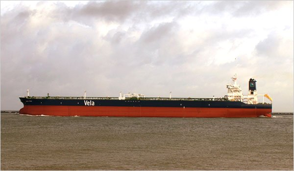 The Sirius Star, a Saudi oil tanker in an undated photo.