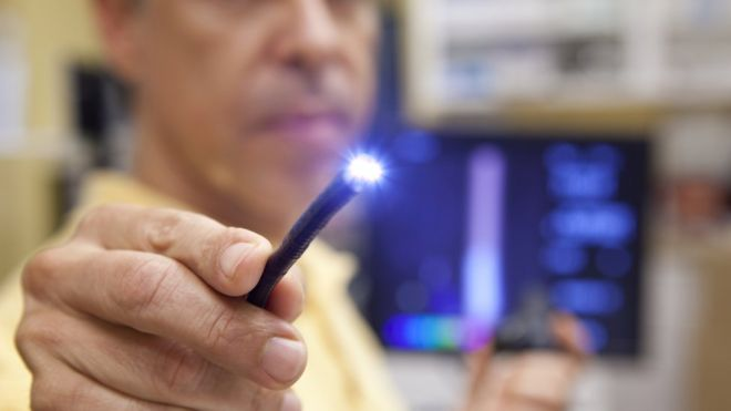 The camera has been designed to help doctors track medical tools known as endoscopes within the body