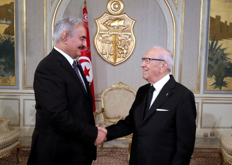 Tunisia Welcomes Haftar, Seeks to Revive Comprehensive Solution Initiative