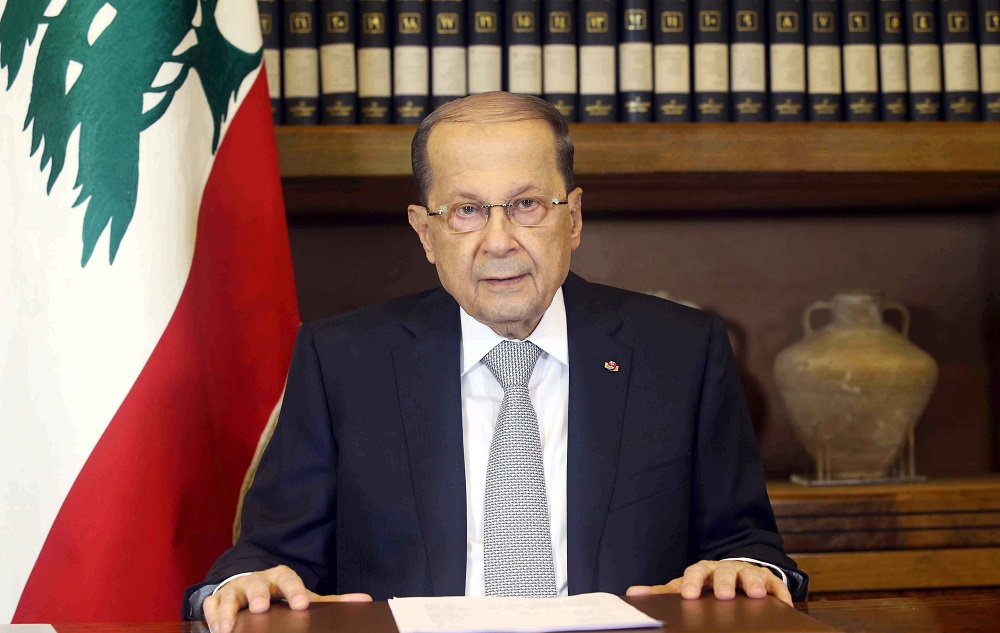 Lebanese President at UN General Assembly after 3-Year Absence