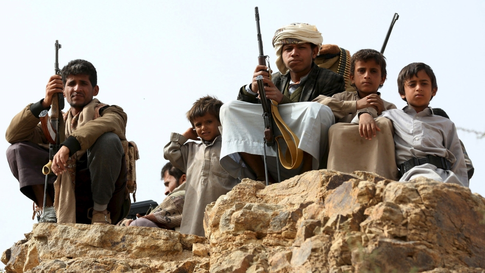 Yemeni Rights Group Reports Houthi Recruitment of Child Soldiers