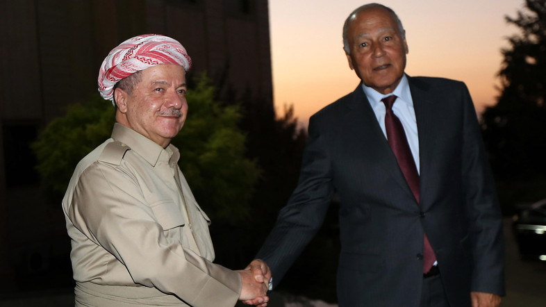 Arab League Chief Visits Baghdad, Erbil in Search of 'Compromise' over Referendum Rift