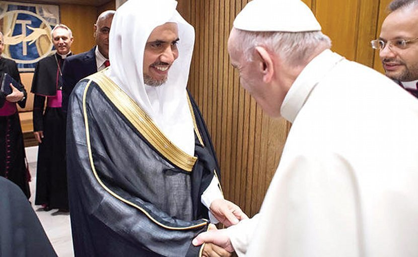 Pope Francis Receives MWL Chief