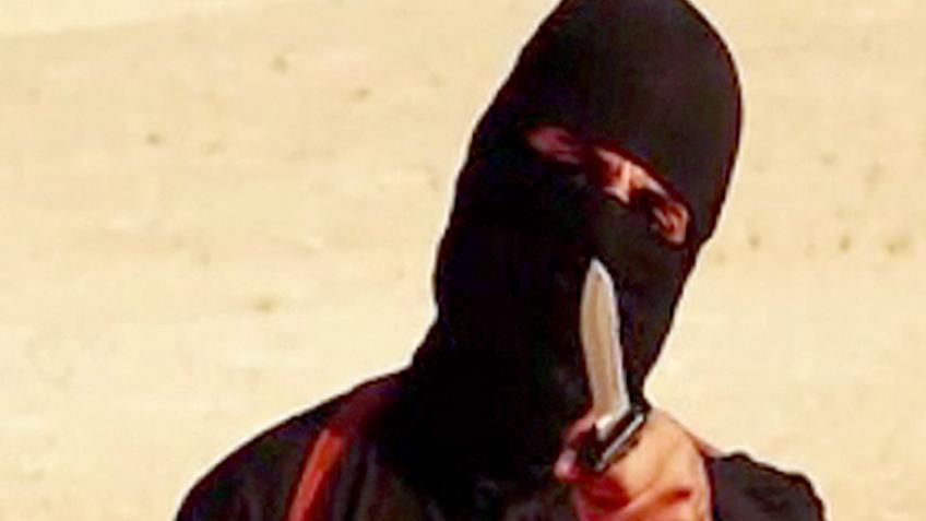 ISIS' Now-Dead Executioner Unmasked in Raqqa for the First Time