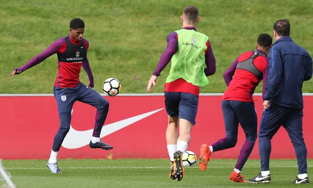 Marcus Rashford Stays Grounded but is Hoping to Propel England to Russia