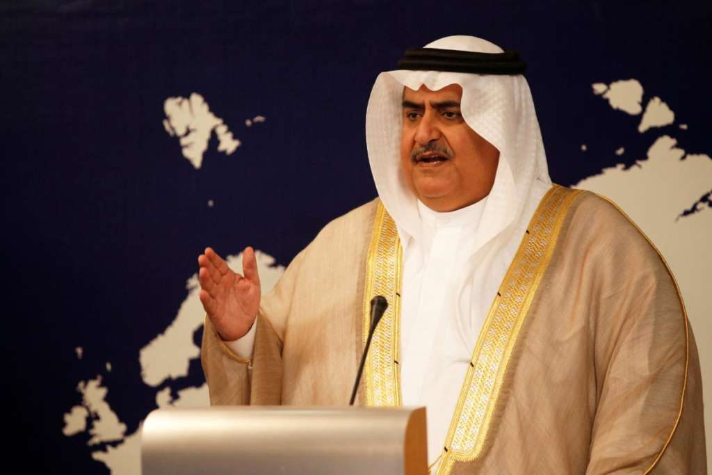 Bahrain FM: Qatar Orbits Iran, Failed to Present Initiative to Resolve Crisis