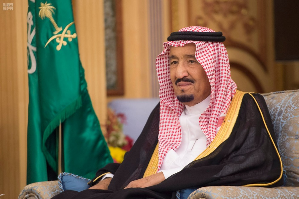 Saudi King Salman Receives UAE Ambassador at End of his Tenure