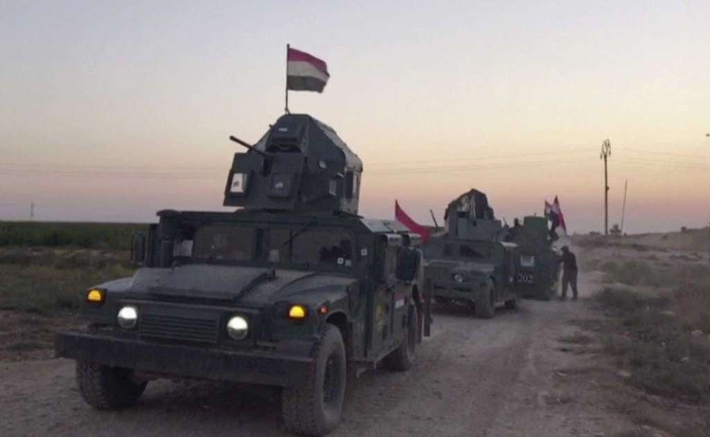 Iraq Govt. Forces Launch Offensive on Kurdish-Held Kirkuk
