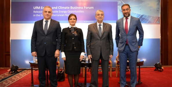 Egypt Inaugurates Mediterranean Union Investment Forum of Renewable Energy