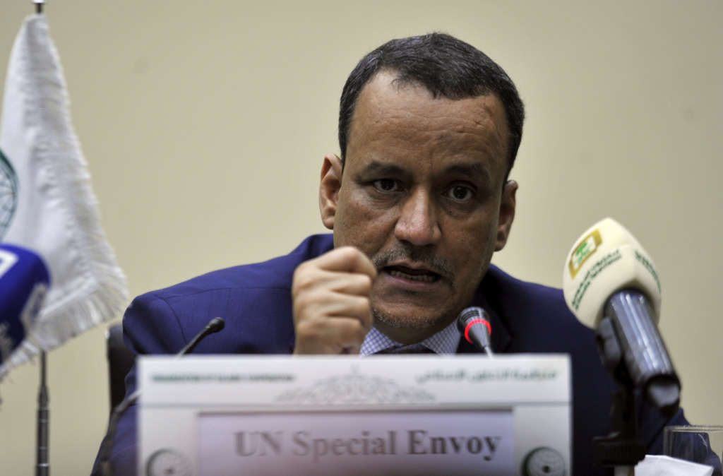 Ould Cheikh: Houthis' Ballistic Missiles a Dangerous Escalation